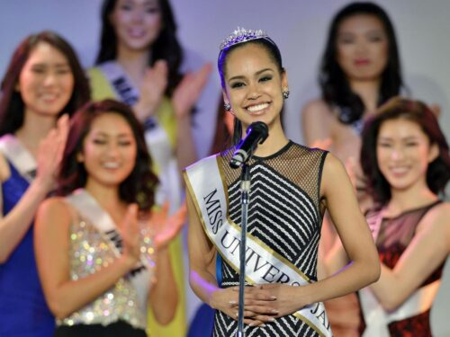Quando una Hafu diventò Miss Japan