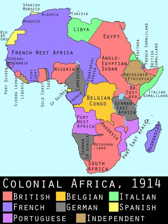 Africa coloniale prima della Grande Guerra