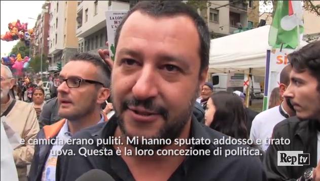 Salvini incontra una cellula